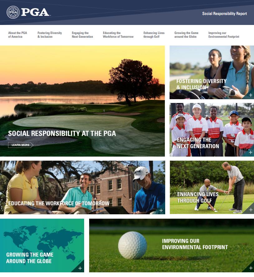 PGA Social Responsibility Report